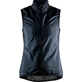 Craft Essence Light Gilet sans manches coupe-vent Femme, black